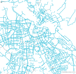 Can You Guess The City From Its Bike Lane Maps Cities The - Artist creates ridiculously detailed paper cuts of city maps