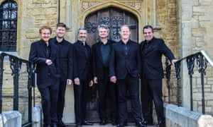 'Grace and finesse': the Binchois Consort, who have created a programme of early polyphony associated with the virgin martyr Saint Katherine