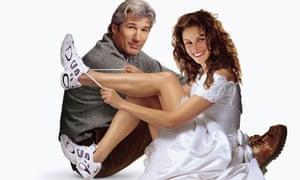 Bridal lace: Richard Gere and Julia Roberts in Runaway Bride.