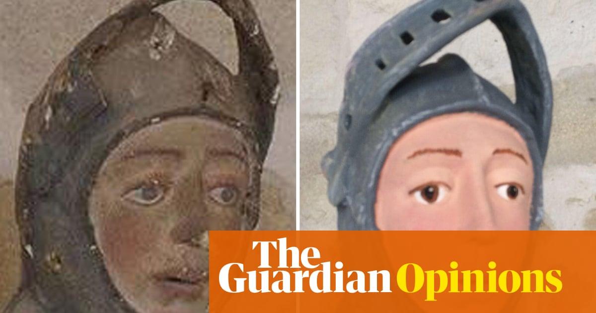 Bravo Amateur Statue Restorer In Spain Originals Are So Overrated
