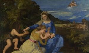 Titian's The Aldobrandini Madonna, about 1532