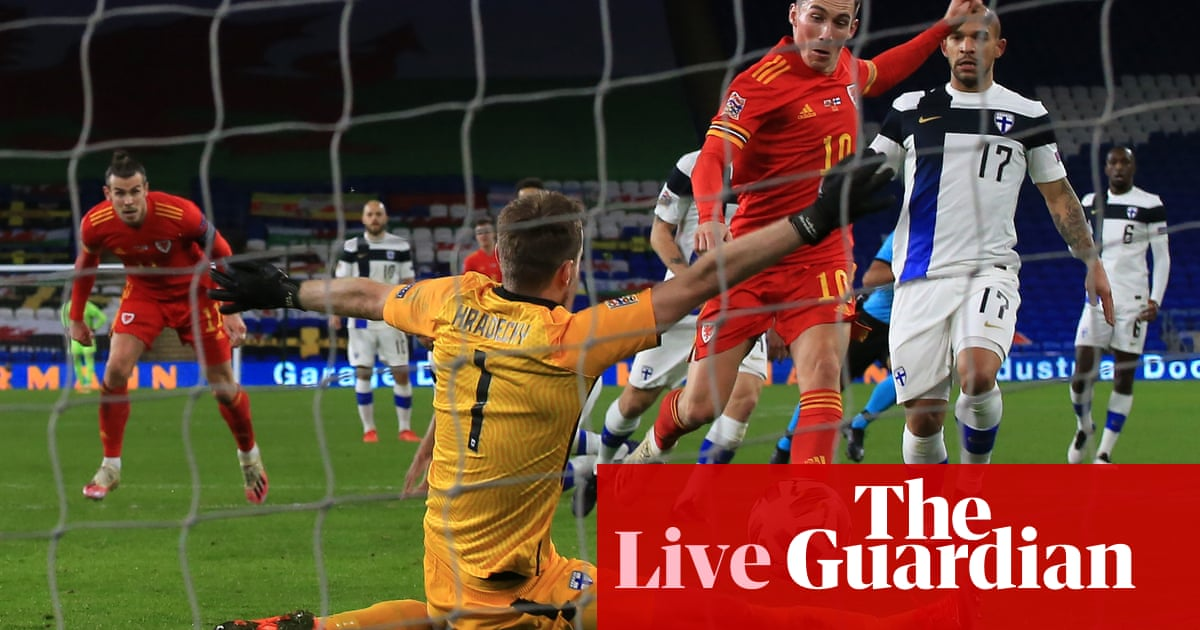 Wales v Finland, Israel v Scotland and more: Nations League – live!