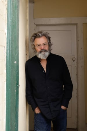 Paul McDermott at his home in Bondi, NSW.