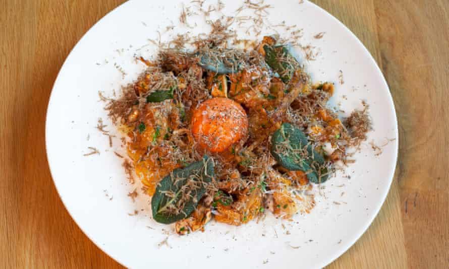 'Echoing shelves of crunch': Mayan potatoes.