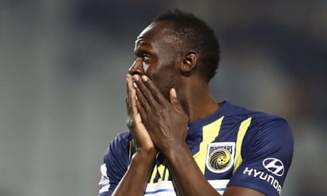 Usain Bolt's trial with Central Coast Mariners ends