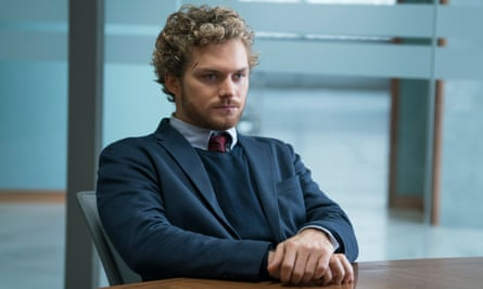 Finn Jones as Danny Rand in Marvel's Iron Fist.