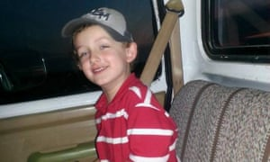 Jeremy Mardis was shot dead and his father was wounded when marshals opened fire on their car in Marksville, Louisiana.