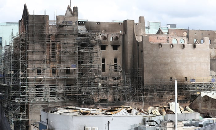 Bulldoze Or Rebuild Architects At Odds Over Future Of Glasgow School Of Art Art And Design The Guardian