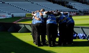 Cricket stewards