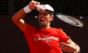 Novak Djokovic Contrite And Accepting Of Default From Us Open Sport The Guardian