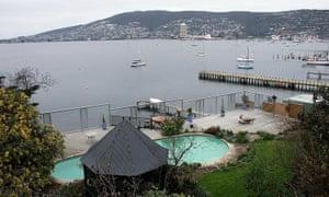 Million-dollar view? Battery Point, Hobart.