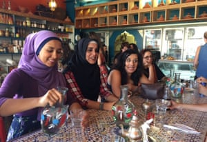 Women at Hana Assafiri     s Muslim speed dating event in Melbourne on Sunday  The Guardian