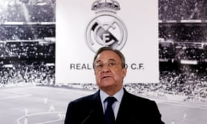 There were leaked emails sent to Real Madrid's president, Florentino Pérez, regarding a possible European Super League.