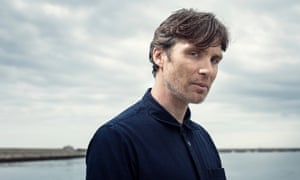 Cillian Murphy photographed at Dun Laoghaire Pier overlooking Dublin Bay