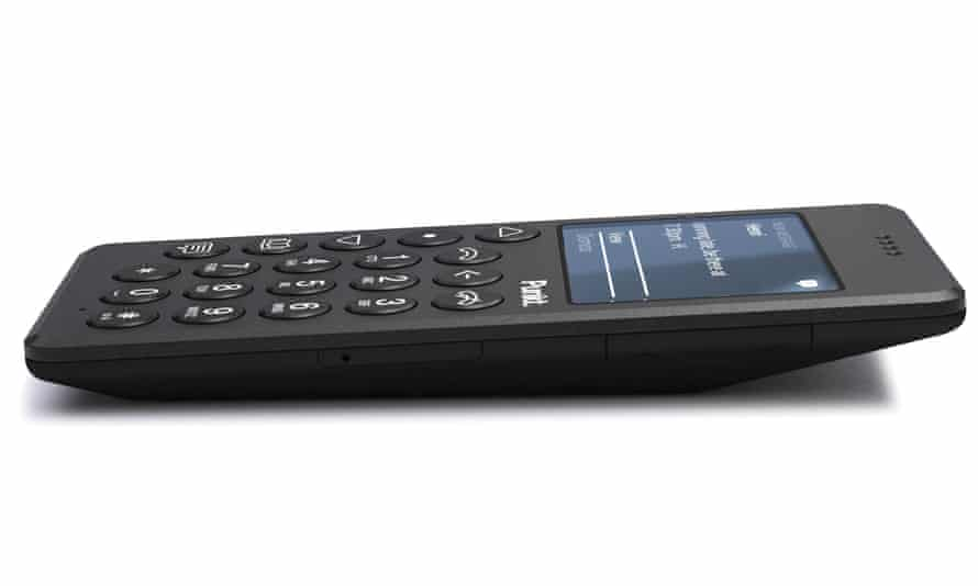the Punkt mobile phone.