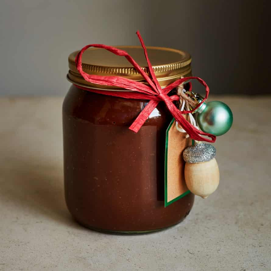 Kylee Newton's chocolate and chestnut spread.