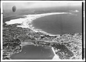 An archival photo of Cronulla in Sydney, Australia, from the National Library of Australia