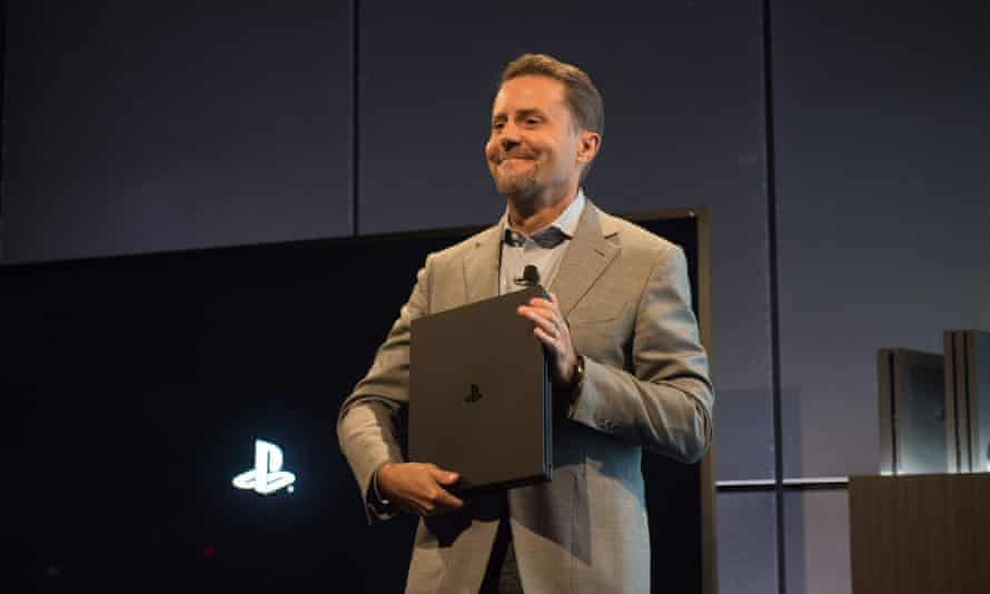 Andrew House, the head of Sony Interactive Entertainment