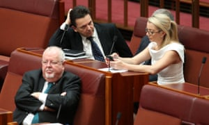Nick Xenophon and his team