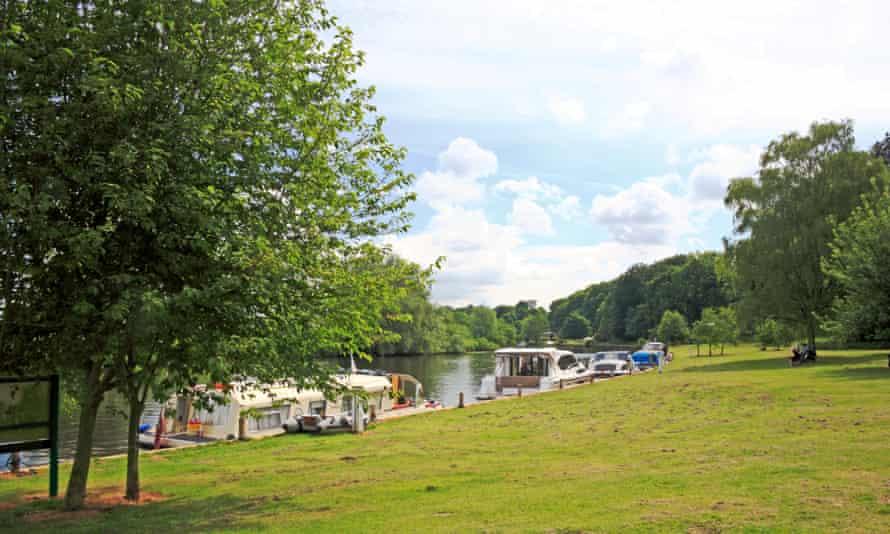 River Yare at Bramerton Common, Norfolk