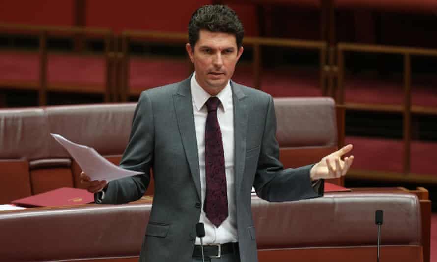 Greens senator Scott Ludlum