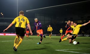 Sergio Agüero's low strike ensured Manchester City completed their job in professional fashion.