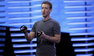 Facebook CEO Mark Zuckerberg sees VR as a social technology, not just a gaming one.