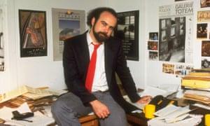 Bill Buford at Granta in 1984