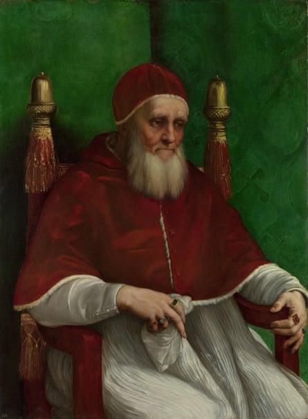 Portrait of Pope Julius II by Raphael (1511)