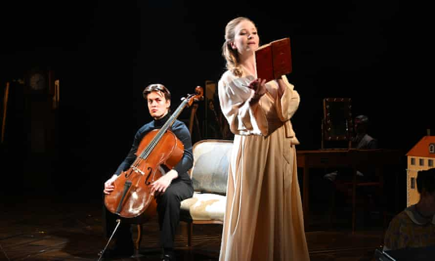 Corinne Cowling in A Little Night Music at Leeds Playhouse.