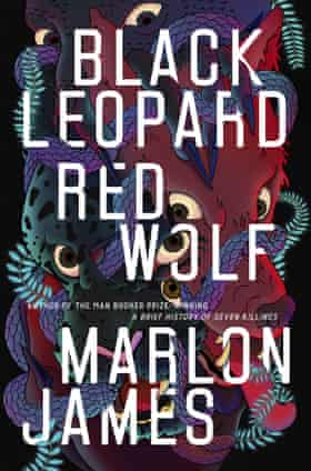 """This cover image released by Riverhead Books shows """"Black Leopard, Red Wolf,"""" by Marlon James. The fantasy novel is among this year's finalists for the 70th annual National Book Awards. The winners will be announced Nov. 20 at a benefit dinner presented by the National Book Foundation in New York. (Riverhead Books via AP)"""
