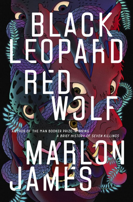 "This cover image released by Riverhead Books shows ""Black Leopard, Red Wolf,"" by Marlon James. The fantasy novel is among this year's finalists for the 70th annual National Book Awards. The winners will be announced Nov. 20 at a benefit dinner presented by the National Book Foundation in New York. (Riverhead Books via AP)"