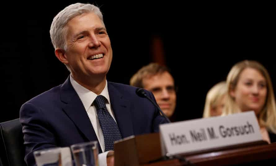 Neil Gorsuch was confirmed to the supreme court on Friday.
