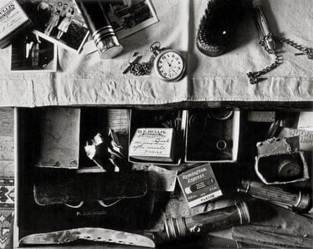 Dresser Drawer, Ed's Place, Norfolk, Nebraska 1947 by Wright Morris