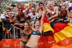 Germany's Laura Ludwig and Kira Walkenhorst