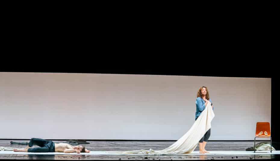 'Opera is really good theatre' ... Matthew Ball and Christine Rice in Phaedra from 4/4 at the Royal Opera House, London, directed by Deborah Warner.