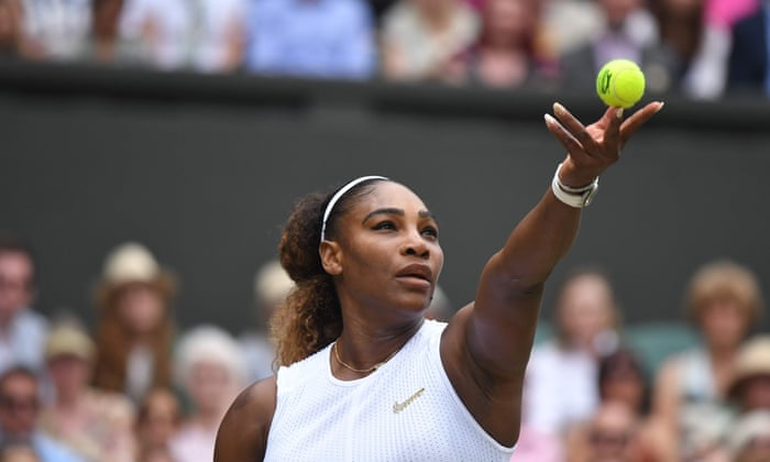 Why do so many men think they could win a point off Serena Williams? | Serena  Williams | The Guardian