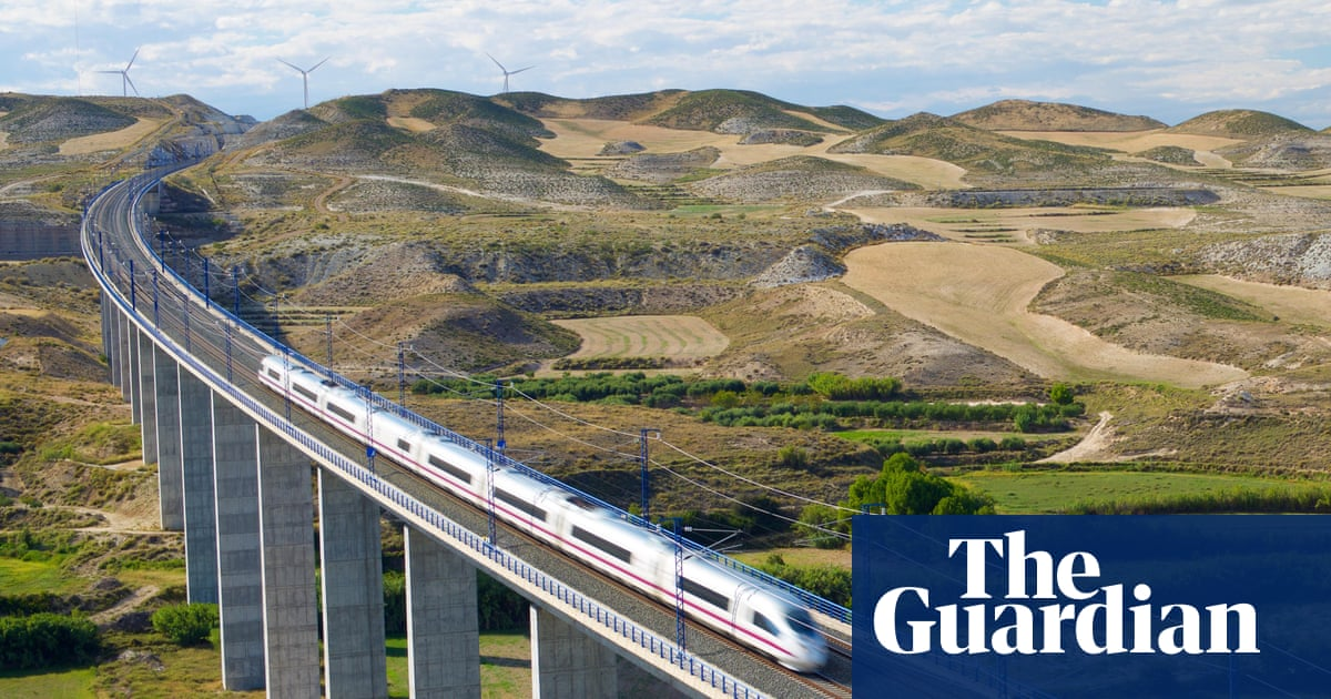 Spain by train: from Barcelona to Seville via Madrid