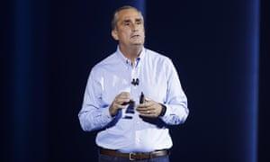 Brian Krzanich joined Intel in 1982 as an engineer.