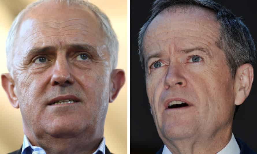 Now it's getting personal: the prime minister, Malcolm Turnbull, right, and the opposition leader, Bill Shorten, exchanging insults over their respective leadership qualities.