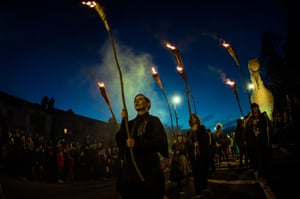 A Macnas event in 2017 … organisers hope Galway 2020 will create a lasting legacy for artists.