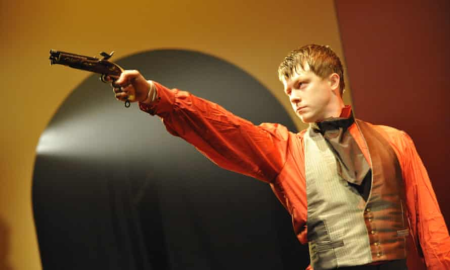 Daniel Rigby as Dantès in the West Yorkshire Playhouse's adaptation of The Count Of Monte Christo.