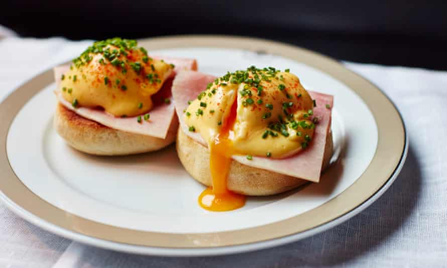 Eggs benedict by the Wolesley
