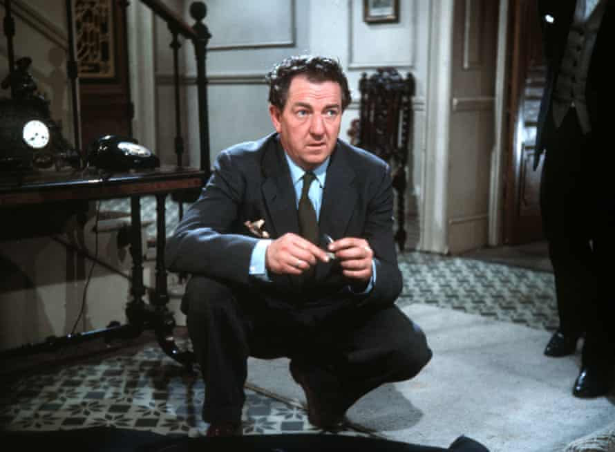 Rupert Davies as M Maigret in the 1964 TV series