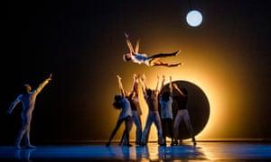 Moonlit dance … a scene from EN.