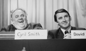 Cyril Smith, left, and David Steel at the Liberal conference in September 1973.