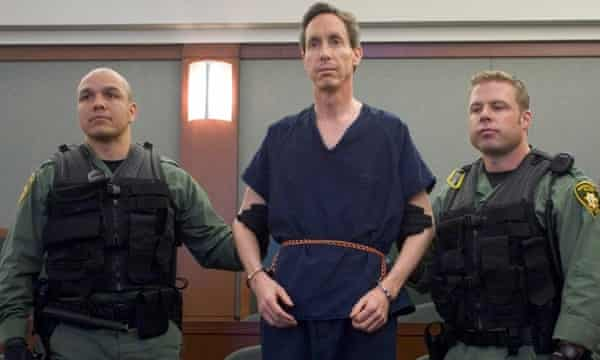 Warren Jeffs at a hearing in Las Vegas, Nevada on 31 August 2006.