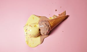 Ice-cream sales fell from 15.6 litres to 13bn in 2016.