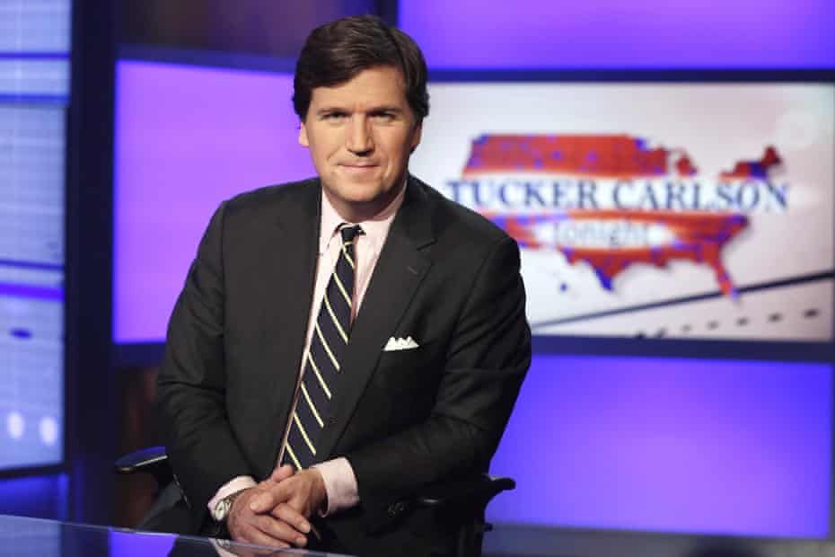 Tucker Carlson has defended QAnon, a racist and antisemitic conspiracy theory linked to multiple violent acts.
