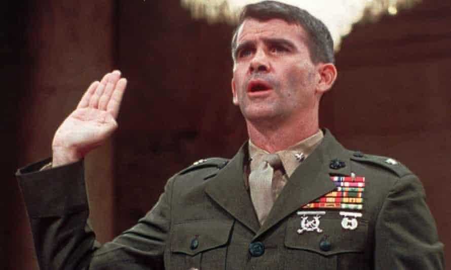 Lt Col Oliver North